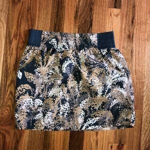 Gap Small Tan Print Skirt